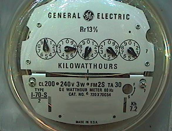 Electric Meter On House : Scogin read my meters understanding utility